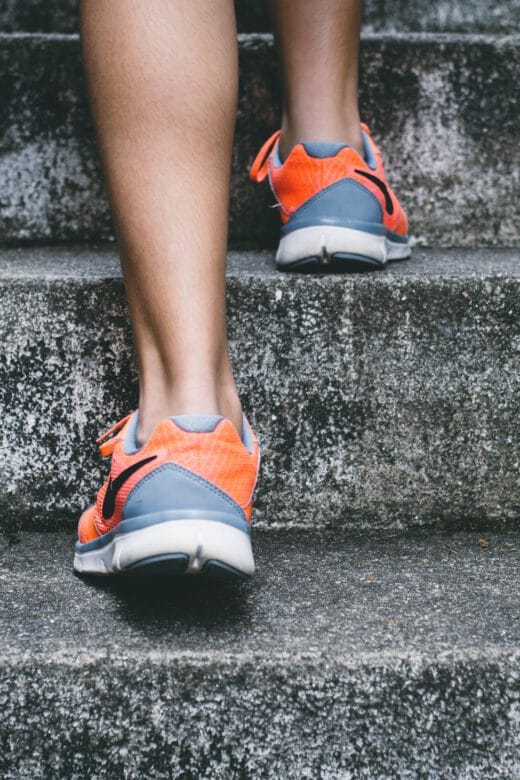 Taking steps to a healthier life